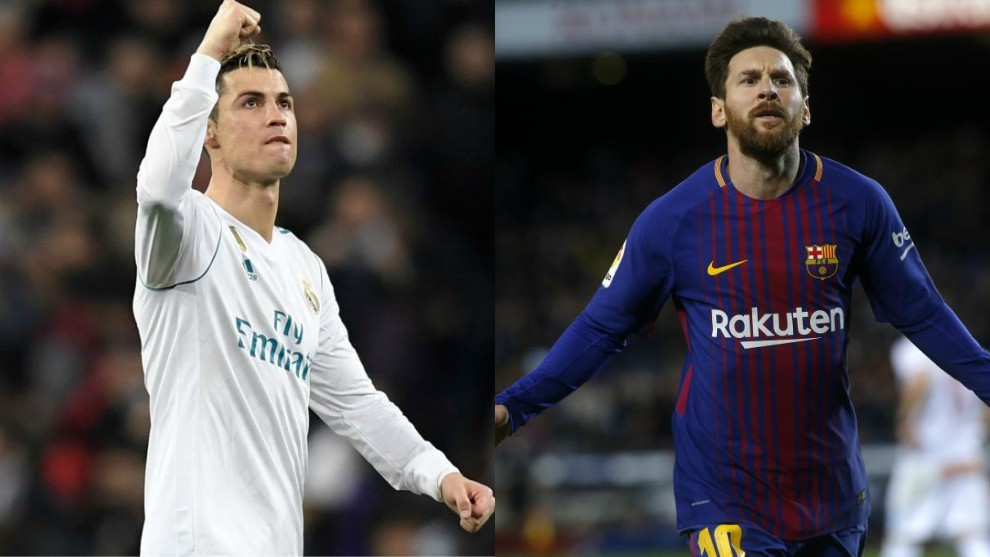 Cristiano Ronaldo has a better goalscoring record than Messi. LaLiga - Real  MadridHas scored 0.86 goals per game 98a502e13