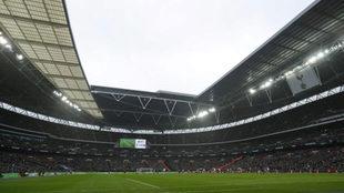 Panorámica de Wembley.