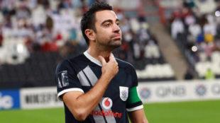 Xavi, en un partido reciente de su equipo, el Al-Sadd