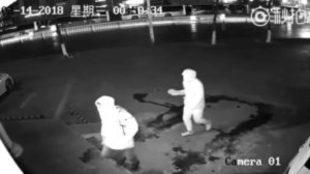 Uno de los ladrones calcula mal y acaba dejando inconsciente a su...