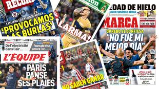 Las portadas de los diarios del 18 de febrero 2018.