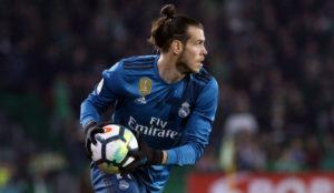 Bale durante el partido ante el Betis.