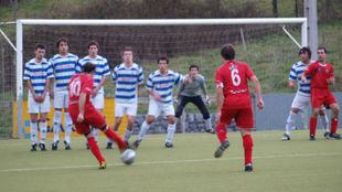 Partido de fútbol en Euskadi