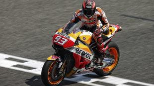 Márquez, en el circuito de Buriram.