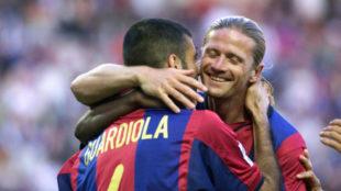 """Petit y el vestuario de su Barça: """"Guardiola tenía rivalidades políticas con los holandeses"""""""
