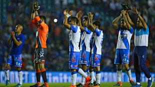 Puebla sacó un punto de su visita al Cruz Azul.