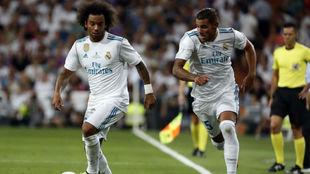 Theo desdobla a Marcelo en la vuelta de la Supercopa de España ante...