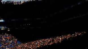 Imagen del estadio de Cornellà.