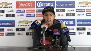 Rodrigo Salinas se dijo inconforme con el arbitraje.
