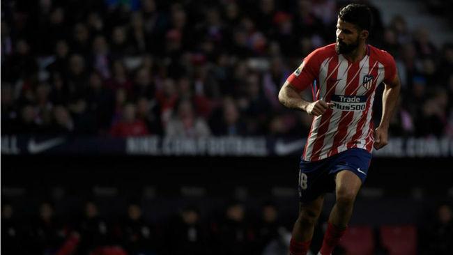 Diego Costa, contra el Athletic.