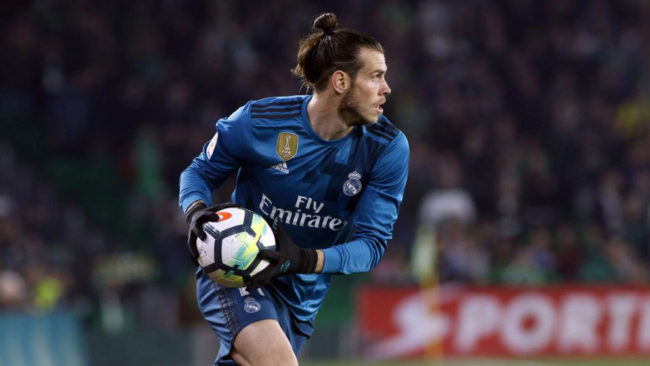 Bale, en el Villamarín.