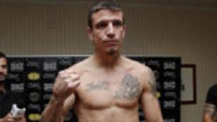El boxeador vasco Kerman Lejarraga