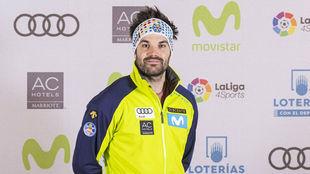 Quim Salarich, integrante del equipo olímpico español en Pyeongchang...