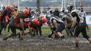 Imagen del partido entre Coyotes y Black Ravens.