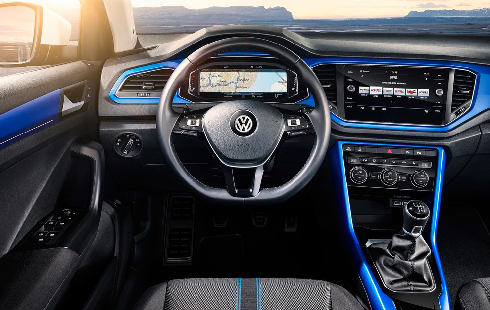 Digital y personalizable, así es el interior del T-Roc