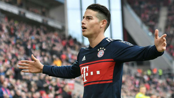 newest 3a37c 43746 LaLiga - Real Madrid: James Rodriguez: Real Madrid spell was ...