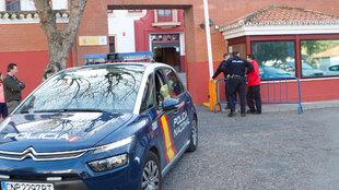 Comandancia de Policía Nacional donde se presta declaración por los...