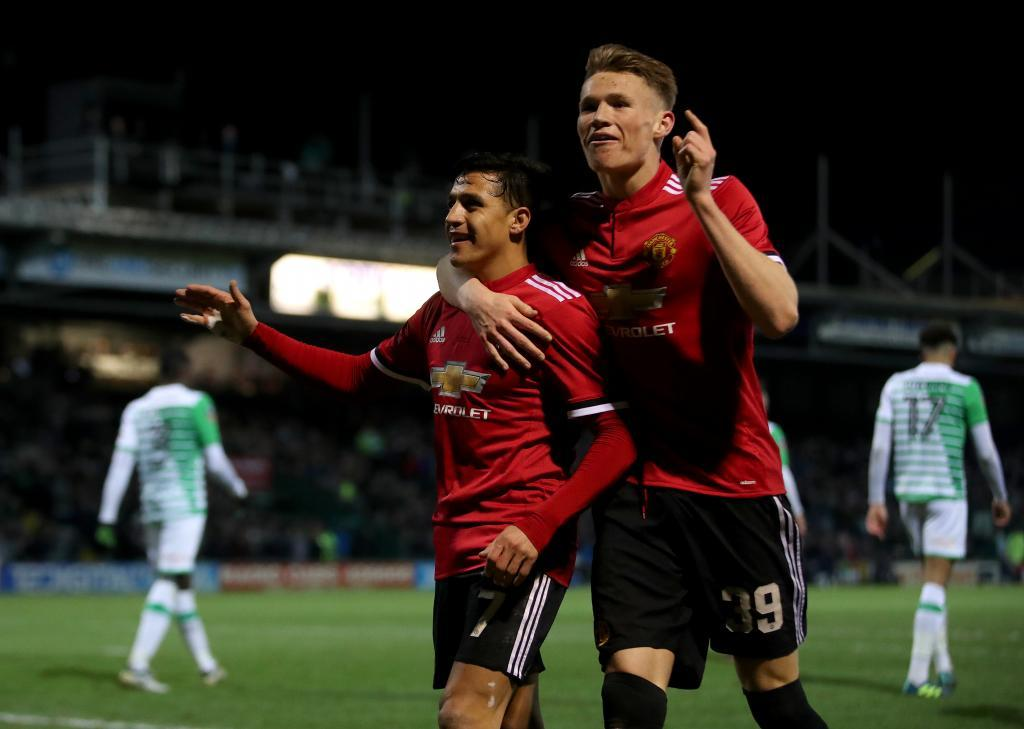 Champions League Sevilla Vs Manchester United Mctominay The Trick Up Mourinho S Sleeve To Surprise Sevilla Marca In English