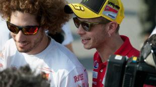 Simoncelli y Rossi, en 2011.