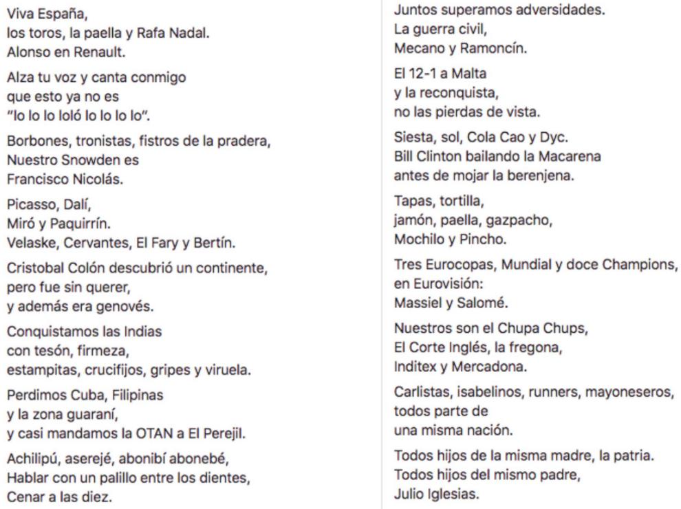 Norcoreano Y Su Aportación A La Letra Del Himno De España Juntos Superamos La Guerra Civil Mecano Y Ramoncín Marca Com