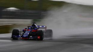 El nuevo Toro Rosso, en Misano.