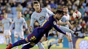 Fontàs, en un partido de esta temporada contra el Barcelona.