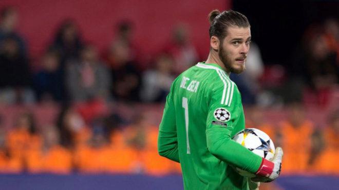 sports shoes 4a00e b61c2 Champions League - Sevilla 0-0 Man United: De Gea leaves ...