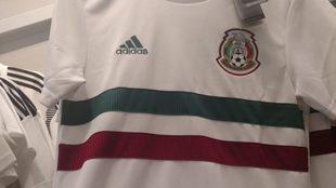 Nueva playera de México para el Mundial de Rusia 2018.