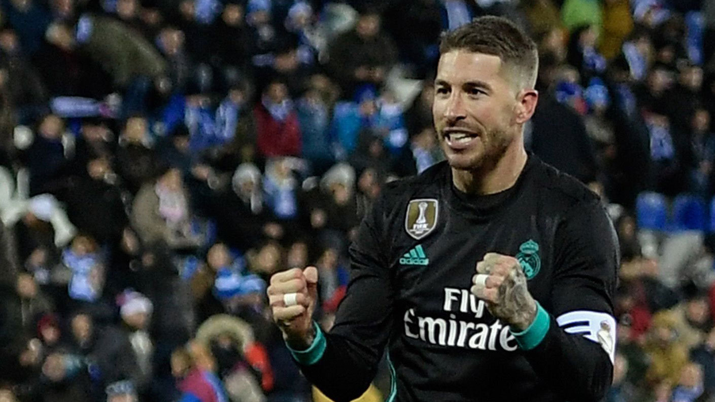 Real Madrid  Los 550 de Ramos 1eda3ae2450