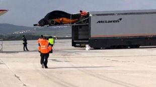 El McLaren MCL33, en Navarra.