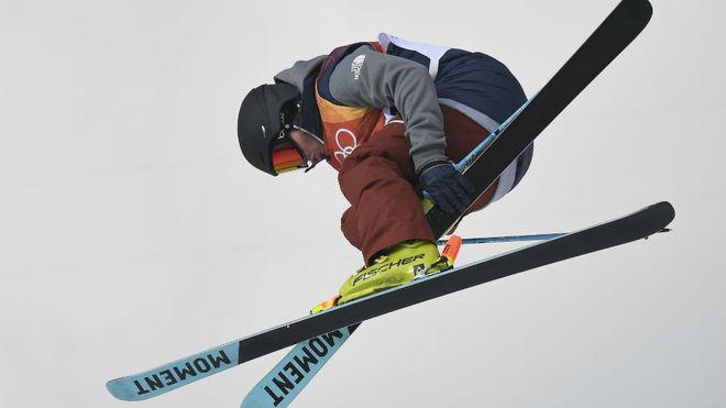 David Wise, en un salto.