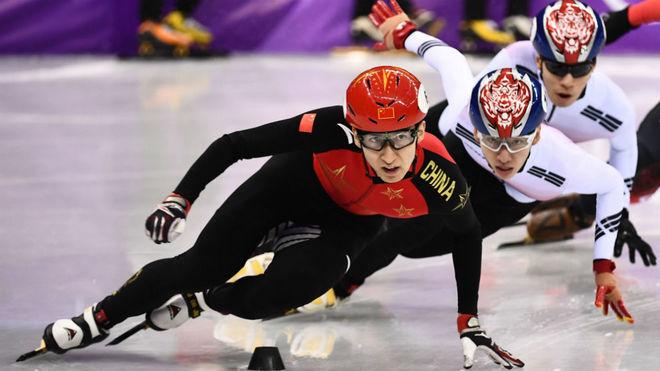 Wu Dajing, en la final.
