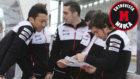 Nakajima, Buemi y Alonso.