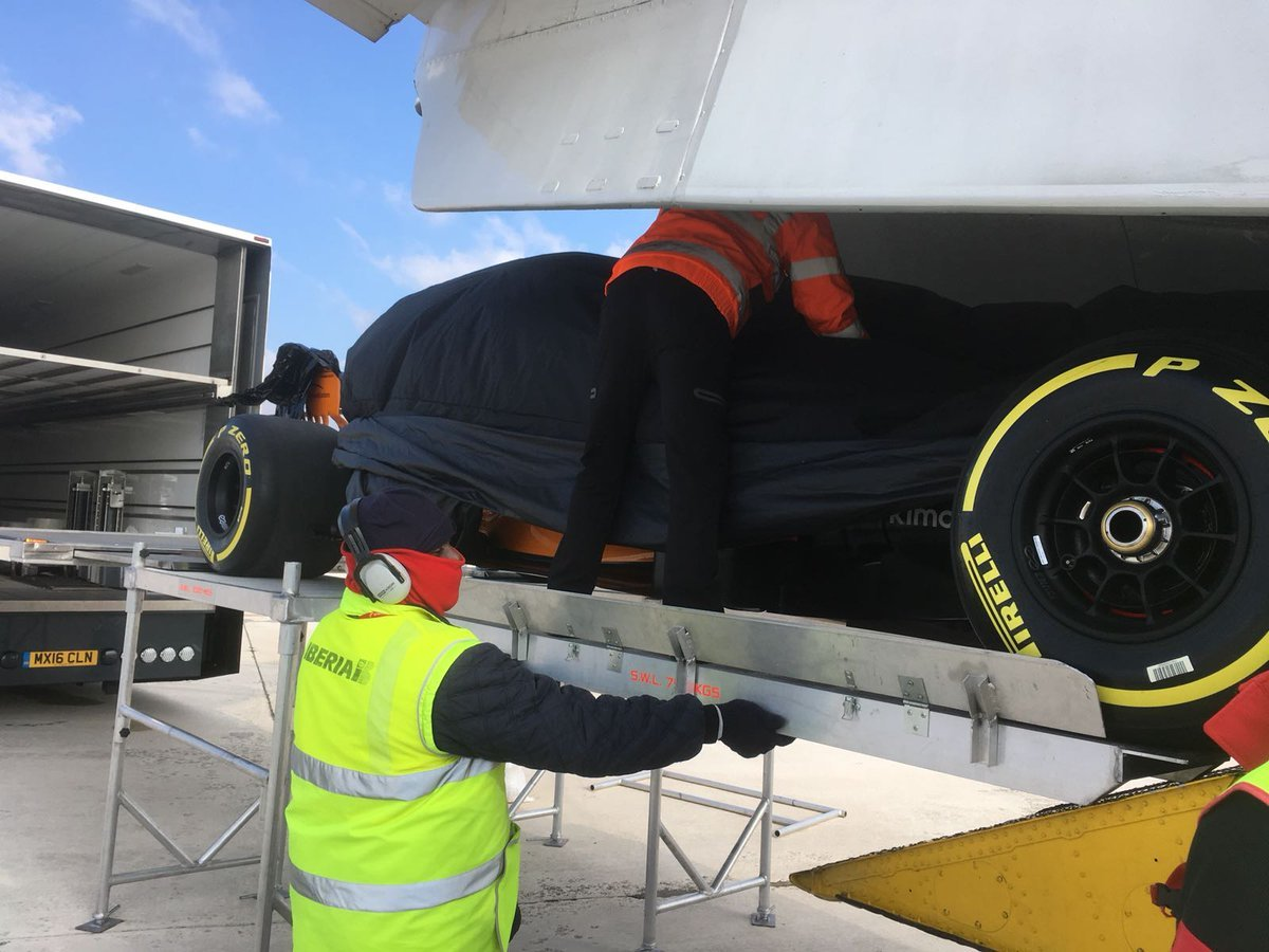 McLaren presume el nuevo monoplaza