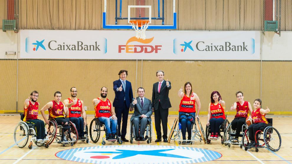 Caixabank apoyar a las selecciones de baloncesto en silla de ruedas - Baloncesto silla de ruedas ...