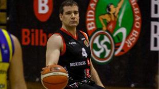 Joshua Turek, alero del Bidaideak Bilbao BSR