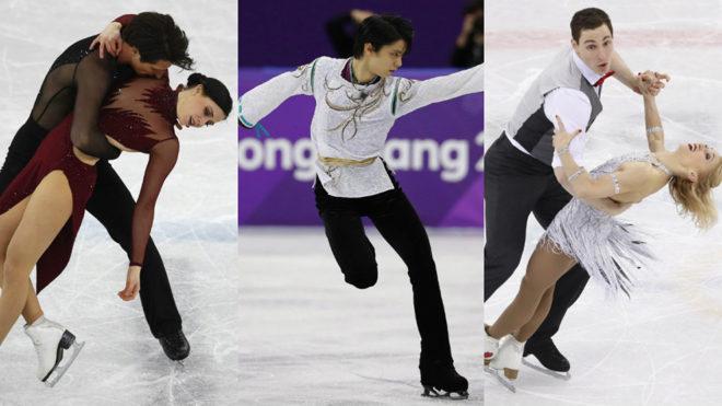 Lo mejor del patinaje artístico se despedirán de Corea del Sur en...