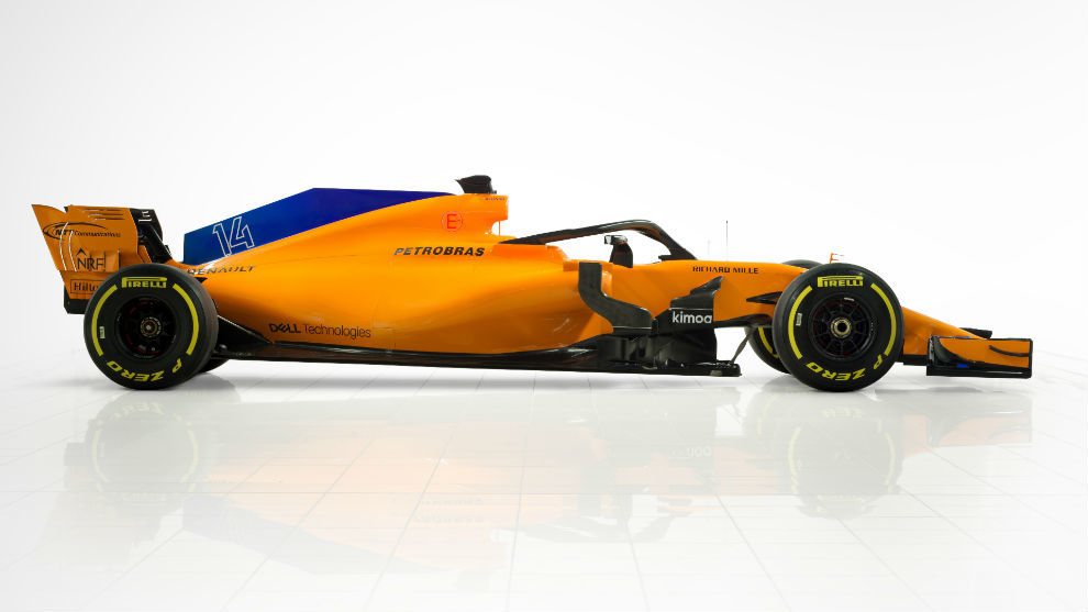 The MCL33 used in F1 (2018)