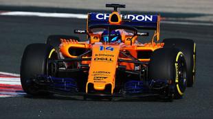 Fernando Alonso, con el MCL33