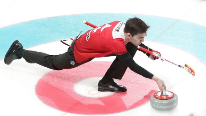 Peter de Cruz, en un momento del choque ante Canadá.