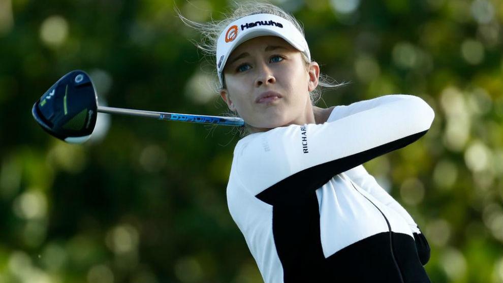 Jessica Korda, ddurante un torneo