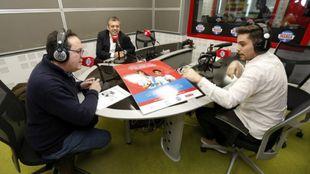 Carlos Bosch durante su entrevista en T4