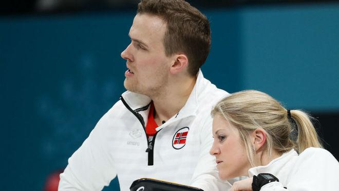 Skaslien y Nedregotten, cuando compitieron por el bronce.