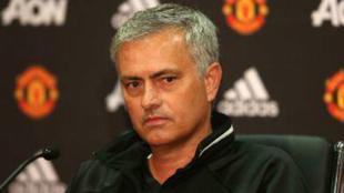 Jose Mourinho en rueda de prensa