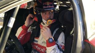 Día de test con Citroën para el piloto francés cerca de Sierra...