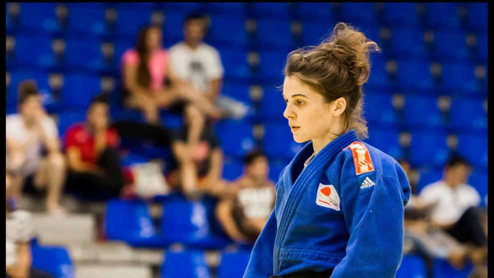 Estrella López Sheriff, en el campeonato de Málaga