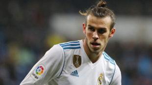 Bale, durante un partido de la presente temporada.