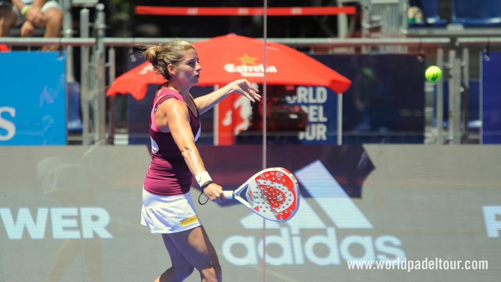 Alejandra Salazar, en el pasado Valladolid Open