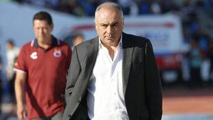 Memo Vázquez se mostró su descontento por el resultado obtenido