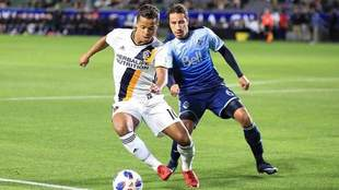 Juárez y Dos Santos se vieron las caras en la MLS.